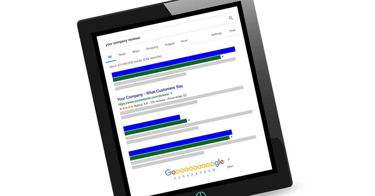 Earn Google Stars In The Searh Results